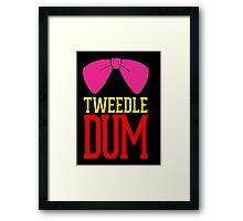 Tweedle Dee Tweedle Dum Costume Framed Print