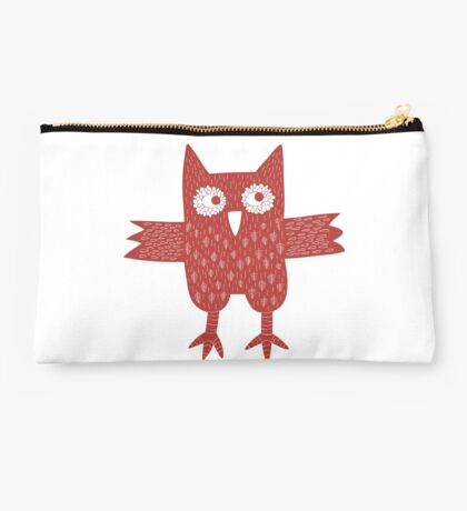 Red Owl Studio Pouch