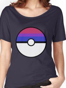 "Pokeball ""Bisexual Ball"" LGBTQ Shirt/etc Women's Relaxed Fit T-Shirt"
