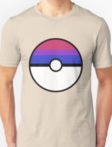 "Pokeball ""Bisexual Ball"" LGBTQ Shirt/etc T-Shirt"