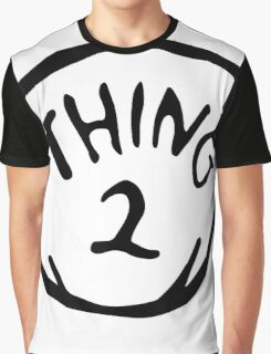 Thing one, thing two. Funny for couples Graphic T-Shirt