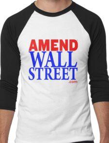 Amend Wall Street Men's Baseball ¾ T-Shirt