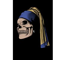 The Skull with a Pearl Earring Photographic Print