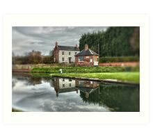 The Toll House Art Print