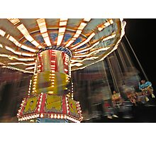 Flying Circus after dark Photographic Print