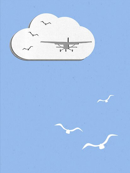 Wall Paper Plane by scribblechap