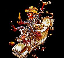 Jerry and the Bandit. Awesome mashup. by baygonwarrior