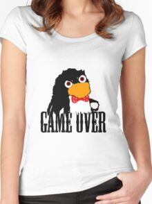 Mr.Flibbles Game Over Women's Fitted Scoop T-Shirt