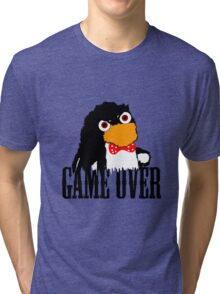 Mr.Flibbles Game Over Tri-blend T-Shirt