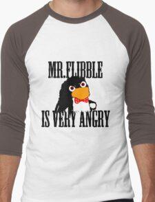 Mr.flibble is very angry Men's Baseball ¾ T-Shirt