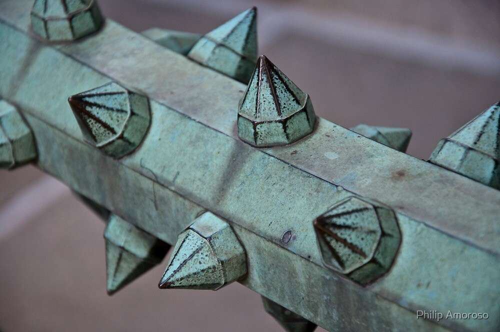 Spiked Railing by Philip Amoroso