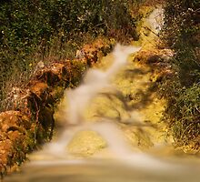 Falls, Santa Lucia, Spain 2012 by Timothy Adams
