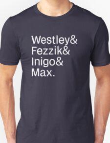 Helvetica Bride Unisex T-Shirt