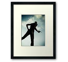 Ray Gun Zentai May 2012 Set I Pic 01 Framed Print