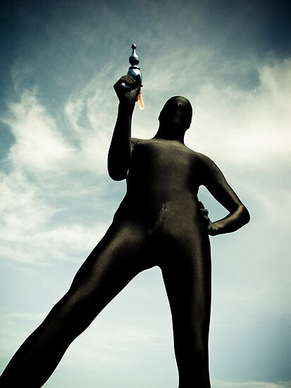Ray Gun Zentai May 2012 Set I Pic 02 by mdkgraphics
