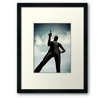 Ray Gun Zentai May 2012 Set I Pic 02 Framed Print