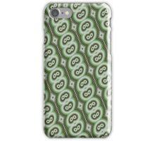 Green retro pattern iPhone case iPhone Case/Skin