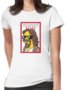 Dude of the year parody. Womens Fitted T-Shirt