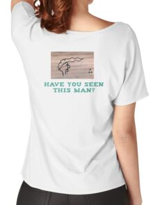 Wanted Poster T-Shirt Women's Relaxed Fit T-Shirt