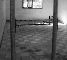 Bed behind bars by SweetLemon
