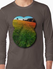 Waving fields of spring Long Sleeve T-Shirt