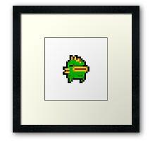 Nuclear Throne Fish Framed Print