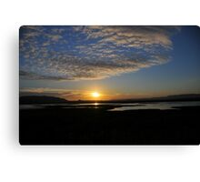 Sunrise - Oenpelli Northern Territory Australia Canvas Print