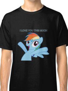Dashie loves you Classic T-Shirt