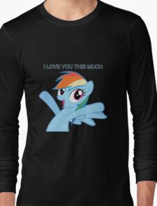 Dashie loves you Long Sleeve T-Shirt