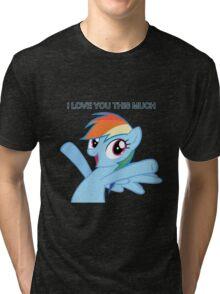 Dashie loves you Tri-blend T-Shirt