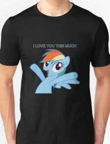 Dashie loves you T-Shirt