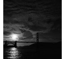 Golden Gate Bridge at Sunset Photographic Print