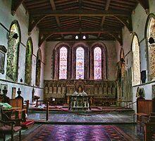 St Mary Magdalene Cobham by Dave Godden