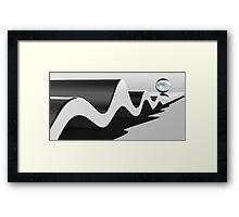Wavelength Framed Print