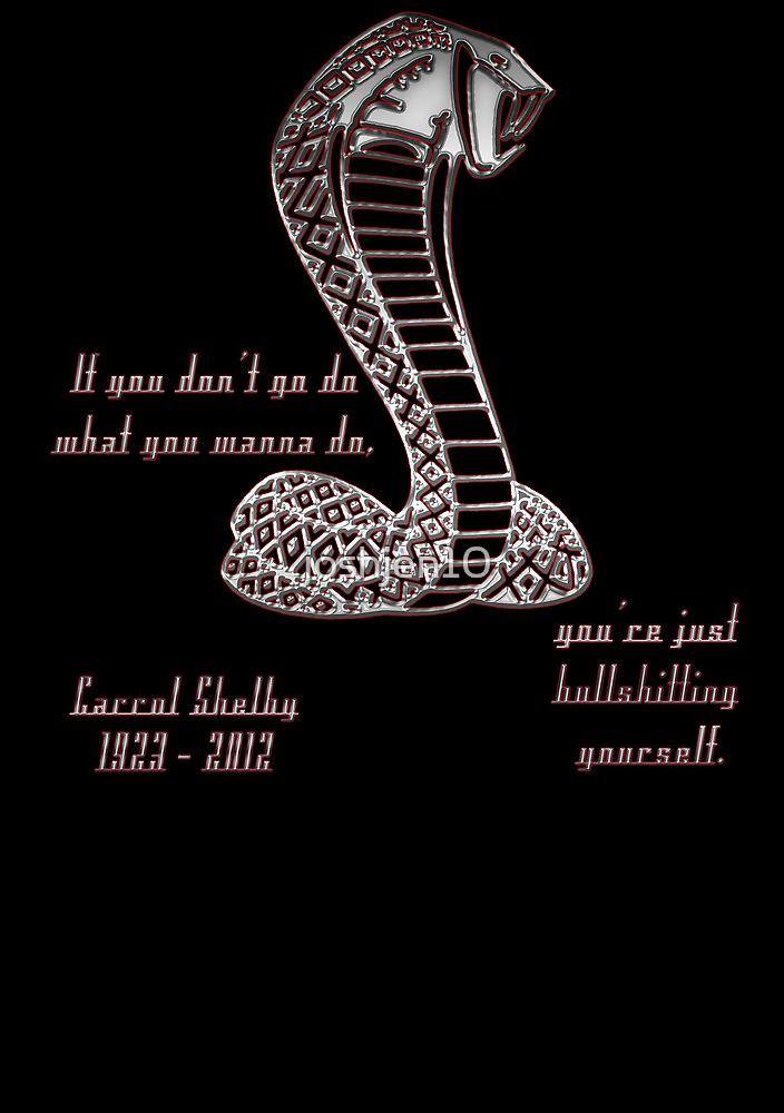 Carrol Shelby Memorial by joshjen10