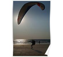Learning to Paraglide Arambol Poster