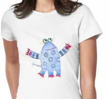 Monster Fred Womens Fitted T-Shirt