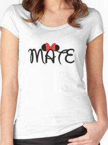 Soul Mate for couples Women's Fitted Scoop T-Shirt