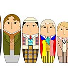 Doctor Who Babushka Dolls by beerman70