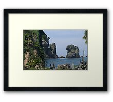 2311-The Other Side of Time Framed Print