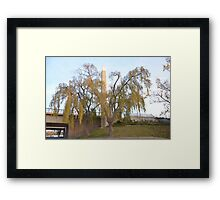 Bridge Base Framed Print