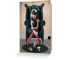 Winner Takes All! Greeting Card