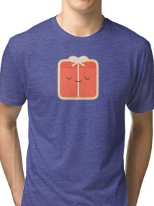 Happy Holidays - Gift Tri-blend T-Shirt