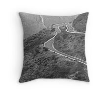 Road to Masca - Canary Island Throw Pillow
