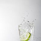 Iced Lime Water by Jodie Williams