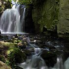Waterfalls at Lumsdale II by John Dunbar