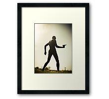 Ray Gun Zentai May 2012 Set I Pic 12 Framed Print