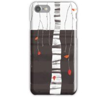 the last of the leaves iPhone Case/Skin