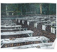 Empty Outdoor Theater Poster