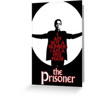 The Prisoner - I AM NOT A NUMBER! Greeting Card